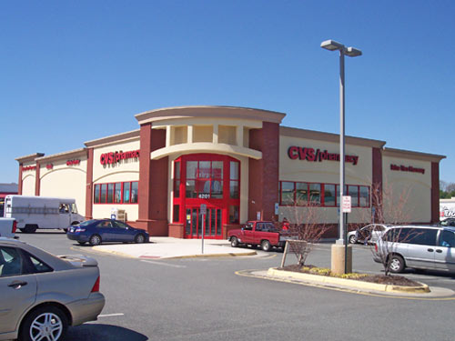 CVS Department Store – Route #3 – City of Fredericksburg, Virginia